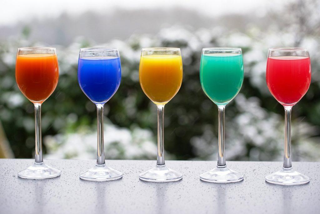 Cocktails spécialité maison